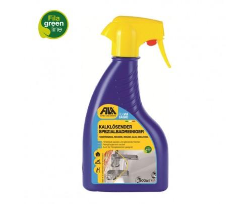 FILA VIA BAGNO - Konzentrierter Badreiniger-Spray für glasierte Keramikfliesen und Kunststofflaminate